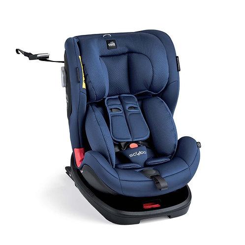 Draaibare autostoel Scudo blauw