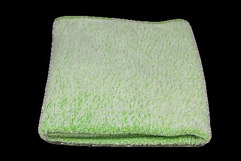 Fleecedeken bed groen