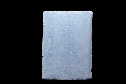 Hoes verzorgingskussen blauw