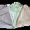 Thumbnail: Fleecedeken bed groen