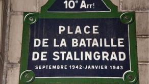 Французы помнят о Сталинградской битве