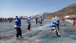 Звезды хоккея на льду Байкала