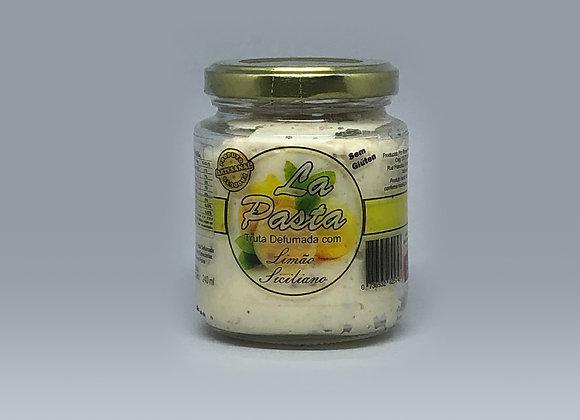 Patê de Truta Defumada - Limão Siciliano - 240gr