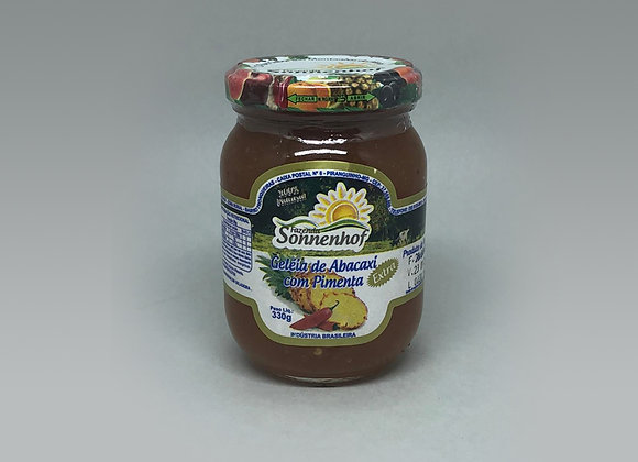 Geleia de Abacaxi c/ Pimenta - 330g