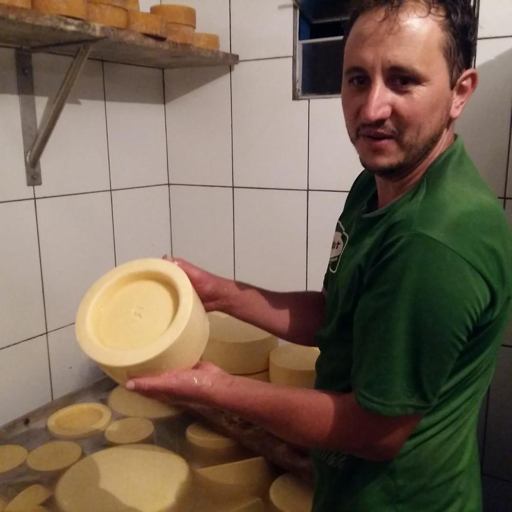 Ademilson: mestre queijeiro da Alagoa