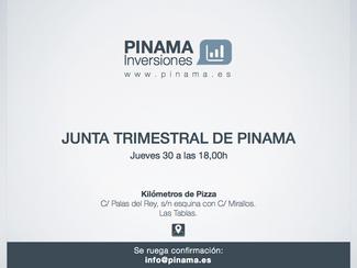 Convocada la primera Reunión Trimestral de Pinama