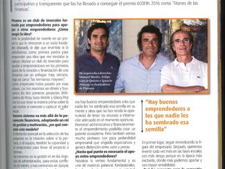 PINAMA entrevistada en la revista ECOFIN