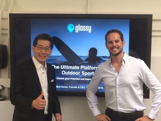GLASSY con el Ministro de Economía de Hong Kong