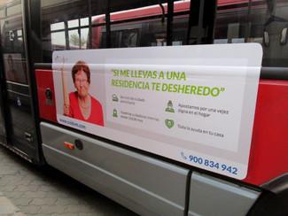 CUIDUM, simpática campaña en autobuses