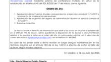 JUNTA GENERAL ORDINARIA DE SOCIOS DE PINAMA 2017 INVERSTARTUPS, S.L.