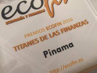 """PINAMA, gana los """"Titanes de las Finanzas"""""""