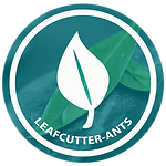 Logo, Small green round - leafcutter A.p