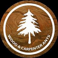 Logo, Small brown round - carpenter rev.