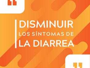 Recomendaciones para disminuir los síntomas de la diarrea