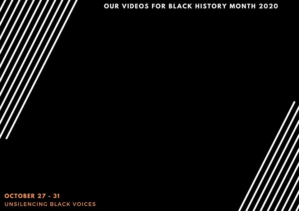 unsilencing black voices presents videos