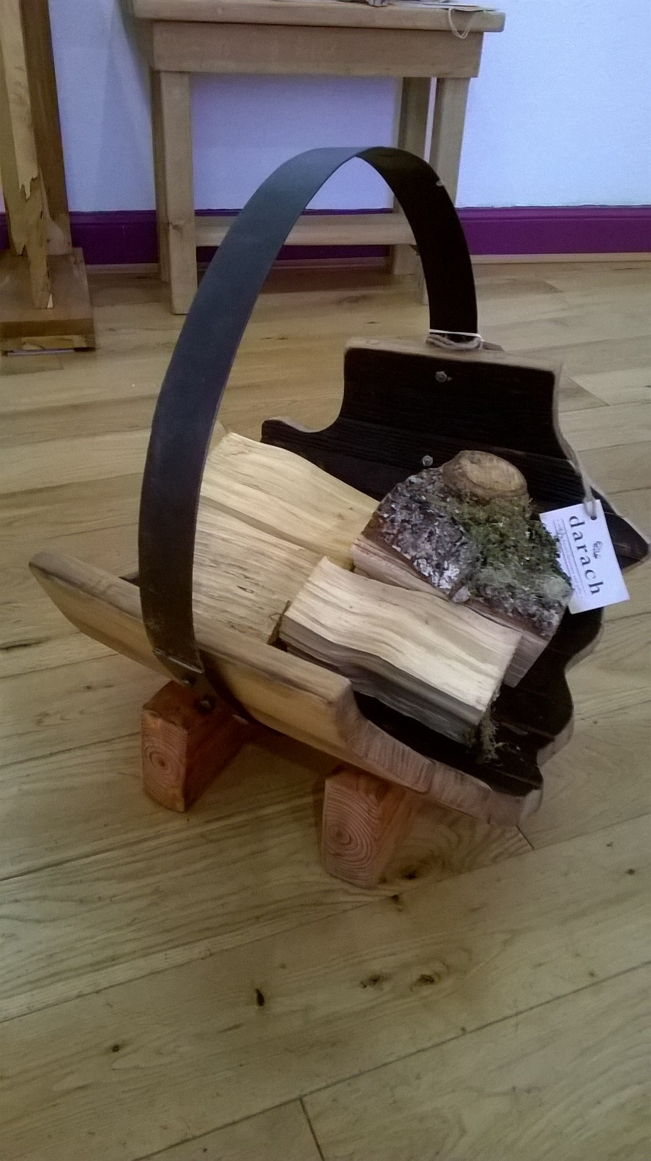 Small Log Holder