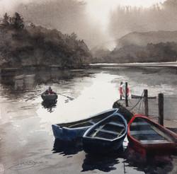 Into the light,Loch Faskally