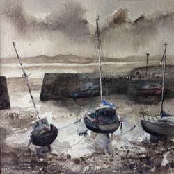 Low light, Port Seton. Sheena F. Phillips