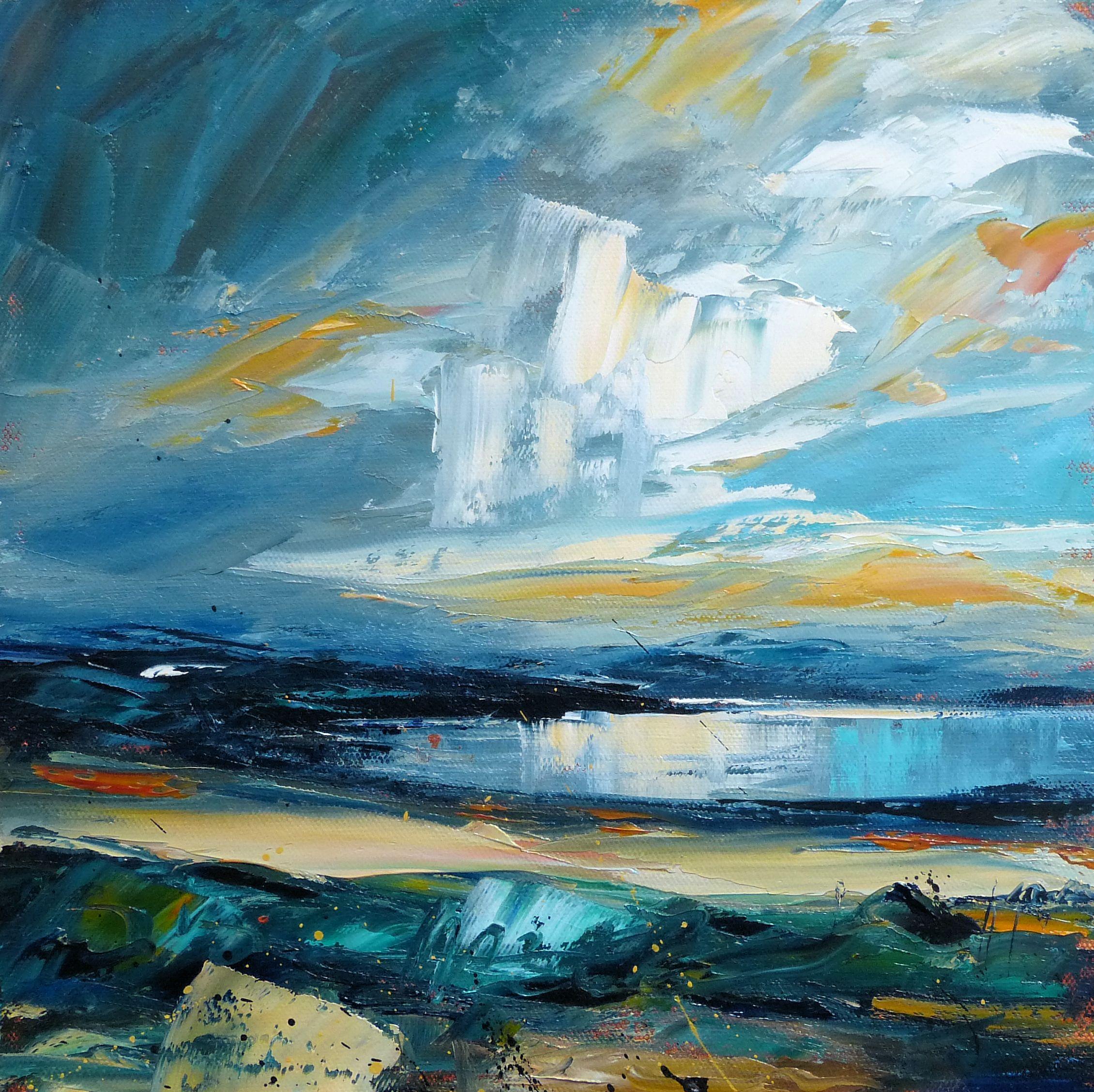 Evening sky over Sutherland