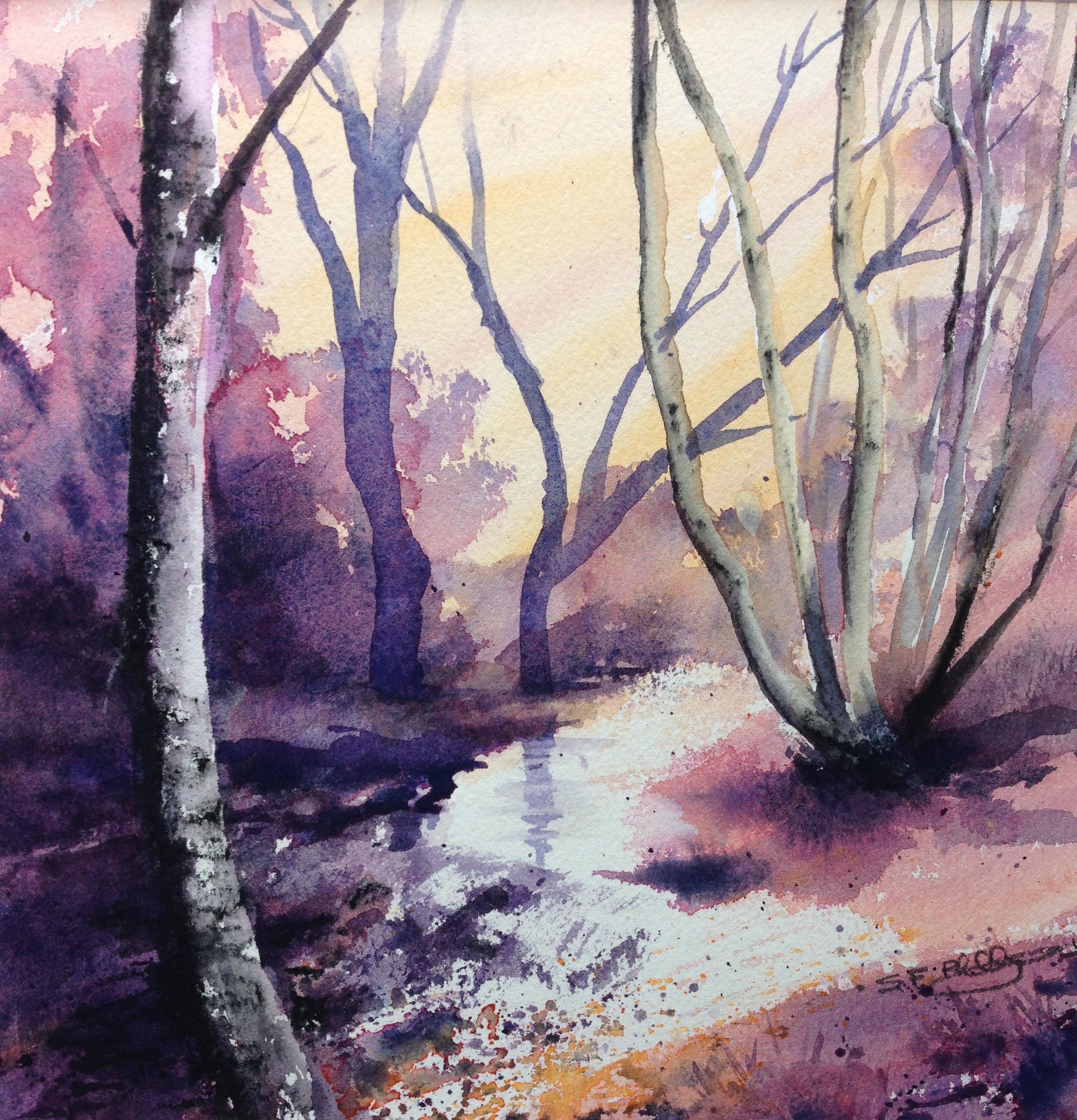 Between the oaks, Birnham. Sheena F. Phillips