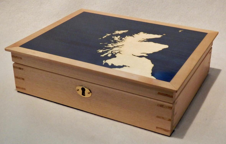 Scotland Map Box