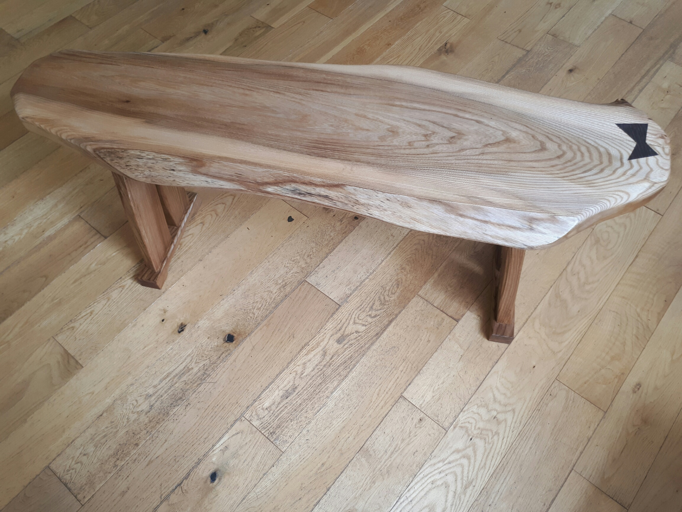Trestle Table in Elm