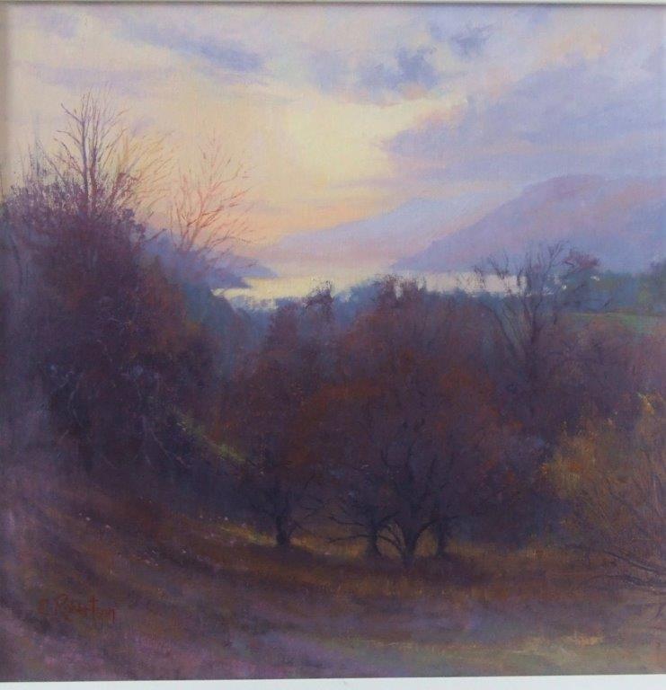 Evening Light, Loch Tay