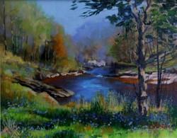 Spring Blue, Glen Lyon