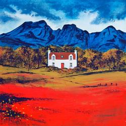 Autumn colour Torrin, Isle of Skye