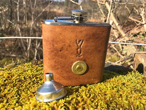 Hip Flask Gift Set by Jamie Boult