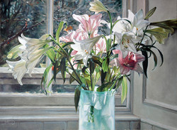 Lilies at the Studio Window