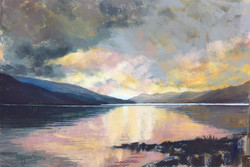 Shimmering Light, Loch Earn