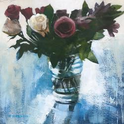 Roses in Glass