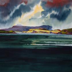 A break in the clouds - Skye