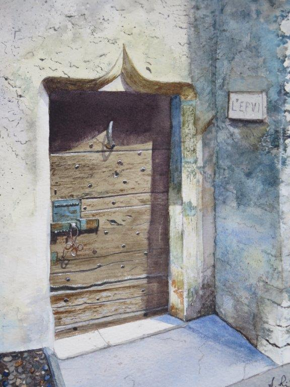 Medieval Doorway, Cevennes