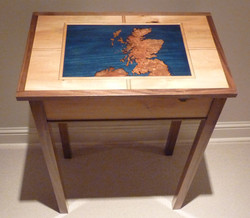 Scotland Map Table