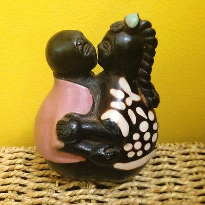 Chulucanas Pottery Couple