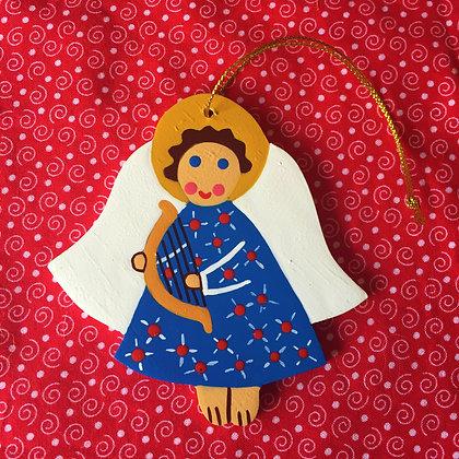 Handpainted Wooden Angel