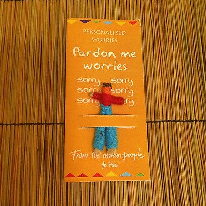 Pardon Me Worries Worry Doll