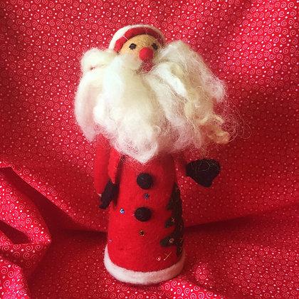 Red Felt Santa