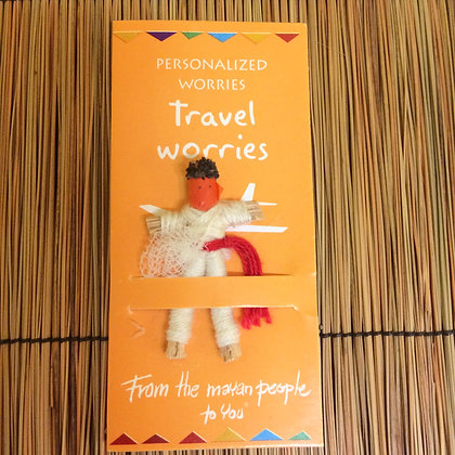Travel Worries Worry Doll