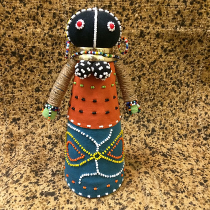 Ceremonial Ndebele Doll