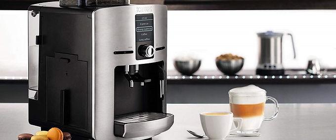 Machine à café avec mousseur à lait