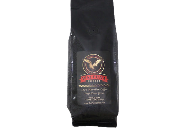 Single Origin, Kona Coffee, Medium Roast