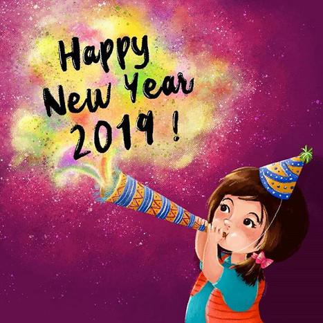 Selamat Tahun Baru 2019. _I'm so gratefu