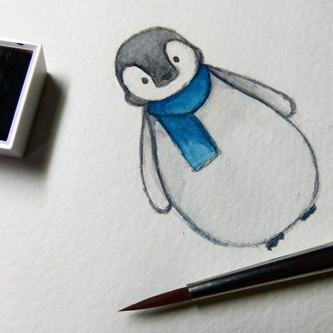 Little penguin😘🐧🐧🐧 #penguin #waterco