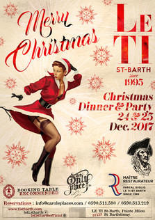 Christmas party 2017 at Le Ti - flyer