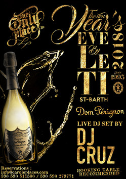 New Year's Eve 2018 - flyer