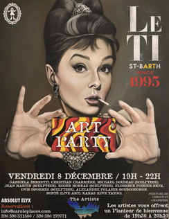Art Party at Le Ti - flyer