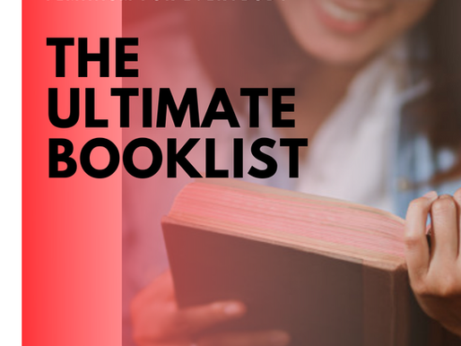 THE ULTIMATE BOOKLIST